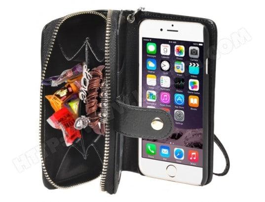 coque porte monnais iphone 6