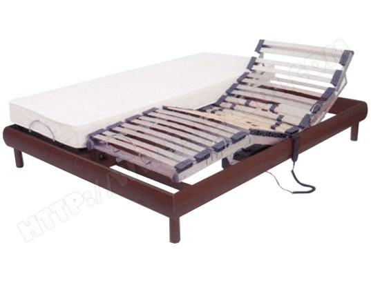 matelas sommier 2 x 80 x 200 timbo lit electrique winter pack pas cher. Black Bedroom Furniture Sets. Home Design Ideas