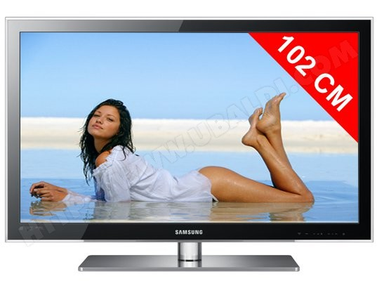 test tv led full hd 102 cm samsung ue40c6000 critiques. Black Bedroom Furniture Sets. Home Design Ideas