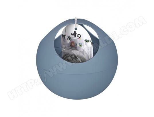 Suspension en forme de boule cache pot bleu vintage pour la ...