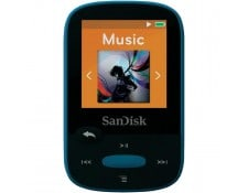 Lecteur MP3 Sansa Clip Sport 8 Go bleu clip de fixation, radio FM SANDISK  619659110628 908b6d0d7ebe