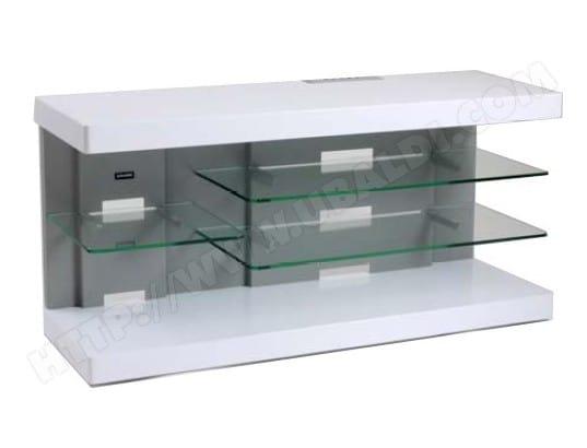 Meuble TV ERARD Ice laque blanc ( 035200 )