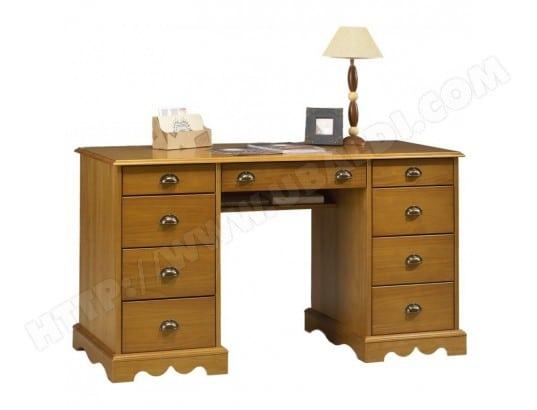 Bureau du notaire pin massif miel de style anglais beaux meubles