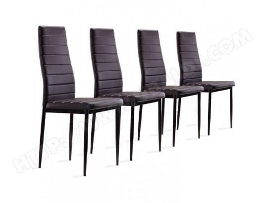 4 Confort Chaises Lot S2 Collaner Et De Ultra Marron Design Paolo xeQdBoCrW