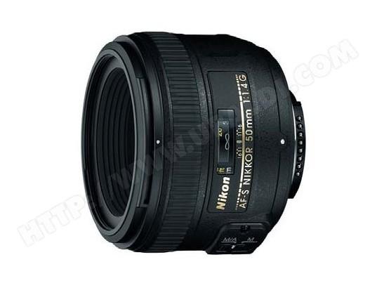 Objectif Reflex NIKON AF-S 50 mm f/1,4 G Nikkor