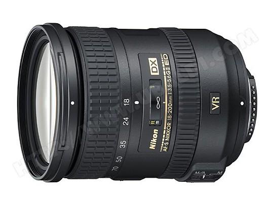 Objectif Reflex NIKON AF-S DX 18-200mm 3.5-5.6G ED VR II