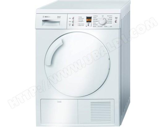 bosch wte84381ff pas cher s che linge condensation bosch livraison gratuite. Black Bedroom Furniture Sets. Home Design Ideas