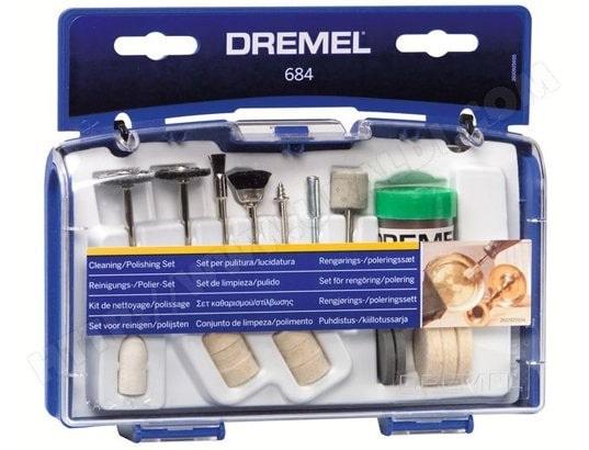 Coffret DREMEL Kit nettoyage polissage - 684
