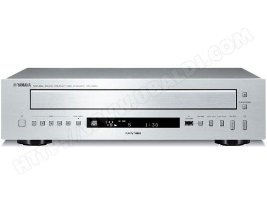Lecteur multi CD YAMAHA CD-C600 Silver
