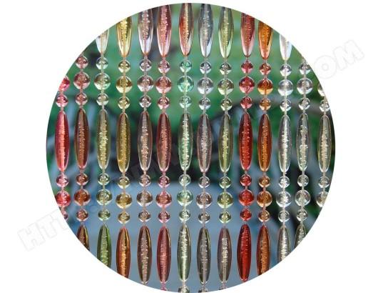 Rideau de porte en perles multicolores Stresa 100x230 cm LA TENDA 22682