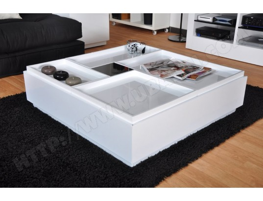 Blanche Pas Table Carrée Design Cher Broklyn Basse Ub eodxBQrCWE