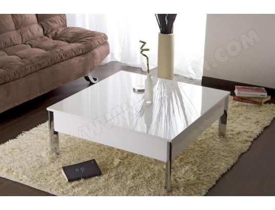 table basse ub design up down blanche pas cher. Black Bedroom Furniture Sets. Home Design Ideas