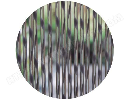Rideau de porte en PVC Sienna gris LA TENDA 25915