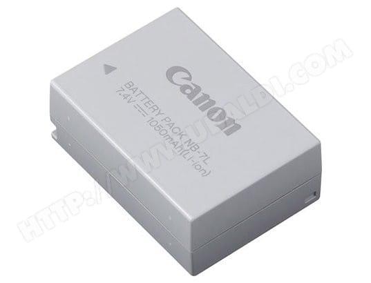 Batterie pour appareil photo numérique CANON NB-7L