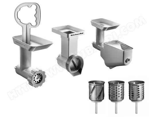 Accessoire robot KITCHENAID FPPC Kit tranchoir/hachoir/passoire