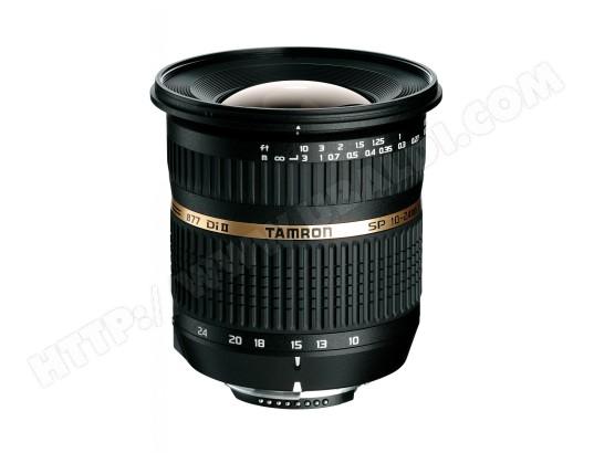 Objectif Reflex TAMRON SP AF10-24mm F/3.5-4.5 Di II pour Nikon