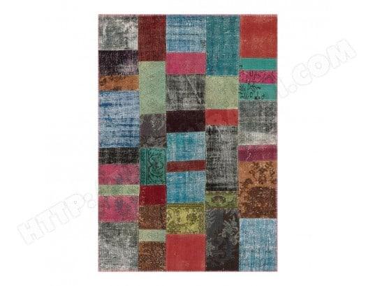 Tapis Kilim En Laine Et Coton Recycle Style Vintage Multicolore Up