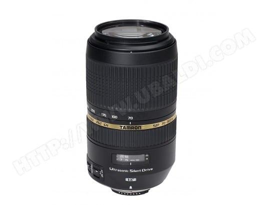 Objectif Reflex TAMRON SP 70-300 F/4-5.6 Di VC USD pour Nikon