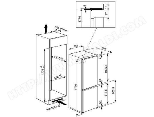 conglateur rfrigrateur rfrigrateur encastrable cool whirlpool arta encastrable l froid brass. Black Bedroom Furniture Sets. Home Design Ideas