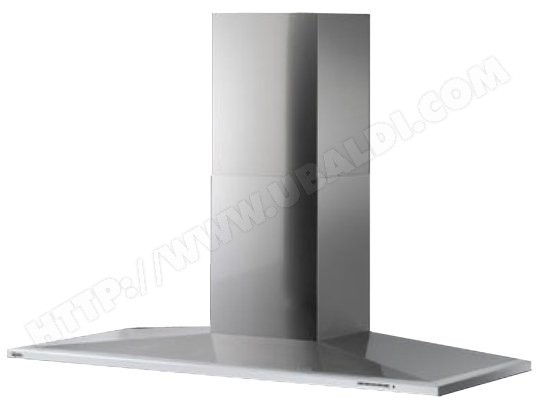 Hotte decorative murale roblin lotus 900 inox 6018205