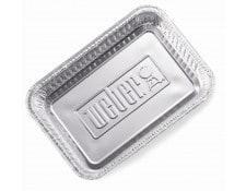 Accessoire barbecue WEBER Barquettes aluminium 6415