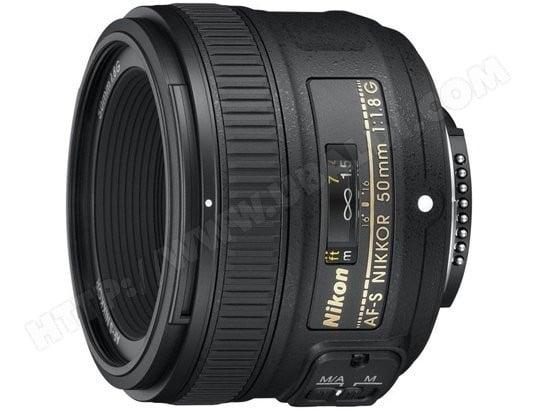 Objectif Reflex NIKON AF-S 50mm f/1.8G