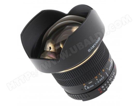 Objectif Reflex SAMYANG 14 mm f/2,8 pour Nikon AE
