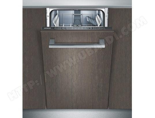 Lave vaisselle tout integrable 45 cm SIEMENS SR65E000EU