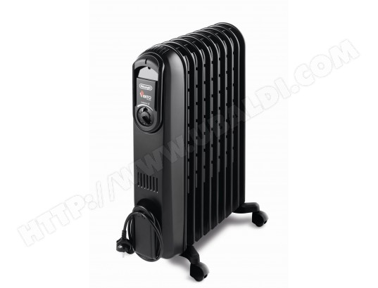 radiateur bain d 39 huile delonghi v550920n vento 2000w pas cher. Black Bedroom Furniture Sets. Home Design Ideas