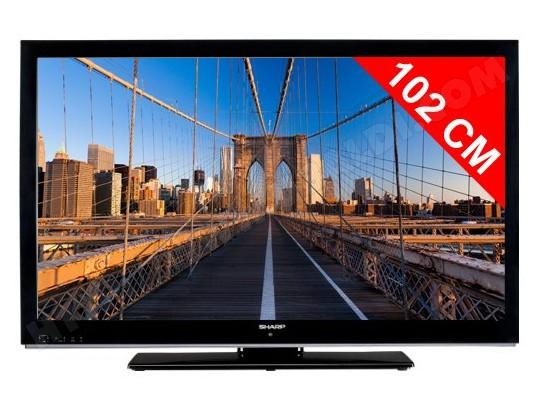 sharp lc40le530e tv led full hd 102 cm livraison gratuite. Black Bedroom Furniture Sets. Home Design Ideas
