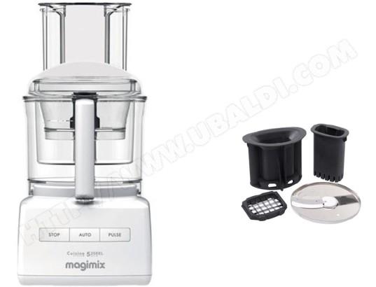 3bbff87fee55a MAGIMIX 18711F CS 5200 XL + Cubes et Batonnets 17639 Pas Cher - Robot  culinaire - Livraison Gratuite