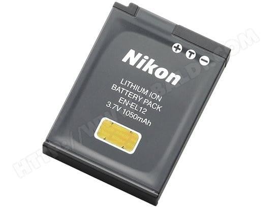 Batterie pour appareil photo numérique NIKON EN-EL12