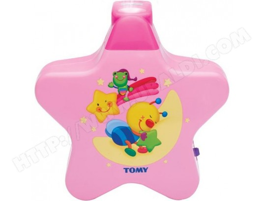 Veilleuse musicale tomy etoile enchantee rose pas cher - Veilleuse musicale projection plafond ...