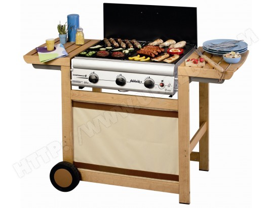 Barbecue gaz CAMPINGAZ ADELAIDE 3 WOODY