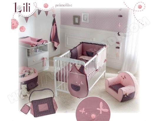 tour de lit bébé parme Tour de lit bébé P'TIT BASILE Tour de lit LILI Pas Cher | UBALDI.com tour de lit bébé parme