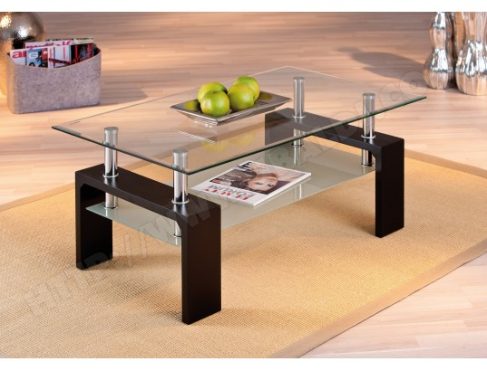 Interlink Dana Noire Basse Table 2 Cher Pas POZiTkXu