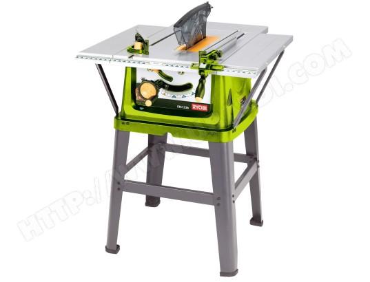 scie sur table ryobi ets15262bhg pas cher. Black Bedroom Furniture Sets. Home Design Ideas