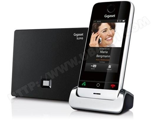 Téléphone sans fil SIEMENS GIGASET SL910