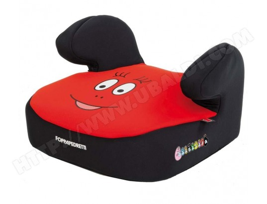 rehausseur auto foppapedretti b bus barbapapa rouge pas cher. Black Bedroom Furniture Sets. Home Design Ideas