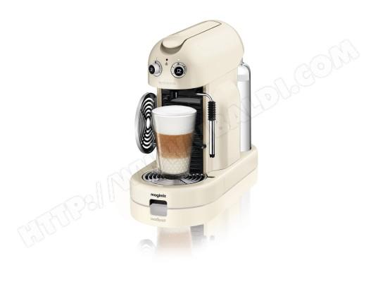 magimix 11330 maestria m400 ivoire pas cher nespresso livraison gratuite. Black Bedroom Furniture Sets. Home Design Ideas