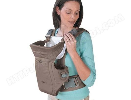 Porte bébé ventral TOMY Freestyle Classic Gris Pas Cher   UBALDI.com 254f09ec0c0