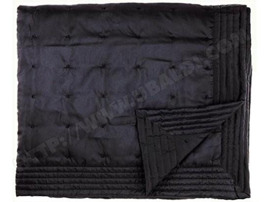 couvre de lit pas cher Couvre lit MOLTEX Siesta noir 260 x 260 Pas Cher | UBALDI.com couvre de lit pas cher