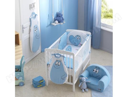 tour de lit bébé barbapapa Tour de lit bébé BABYCALIN Tour de lit Barbapapa Bleu Pas Cher  tour de lit bébé barbapapa