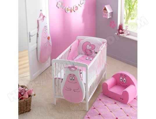 tour de lit bébé barbapapa Tour de lit bébé BABYCALIN Tour de lit Barbapapa Rose Pas Cher  tour de lit bébé barbapapa