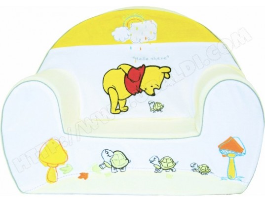 fauteuil enfant babycalin fauteuil club winnie l 39 ourson pas cher. Black Bedroom Furniture Sets. Home Design Ideas