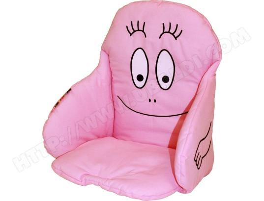Coussin Chaise Haute BABYCALIN De Barbapapa Rose Pas Cher