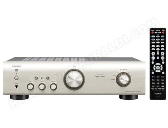 Ampli hifi stéréo DENON PMA-520 Argent