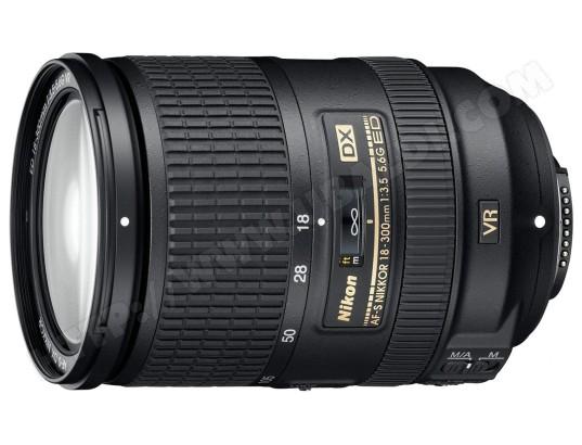 Objectif Reflex NIKON AF-S DX 18-300 mm f/3.5-5.6G ED VR