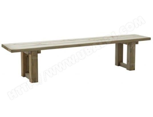 Banc de jardin en bois traité autoclave AUBRY GASPARD 5213 ...