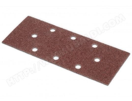 KREATOR - Lot de 5 patins perforés (oval) - grain 40 - 93 x 230 mm KREATOR MA-18CA147KREA-VYA0B